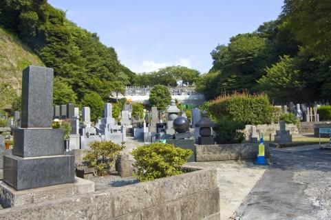 墓参りに来た時の墓石の写真です