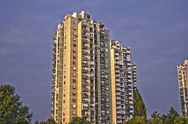 都会のマンション