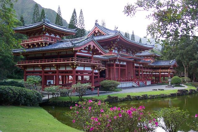 京都の平等院鳳凰堂