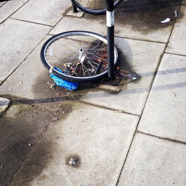 盗まれた自転車