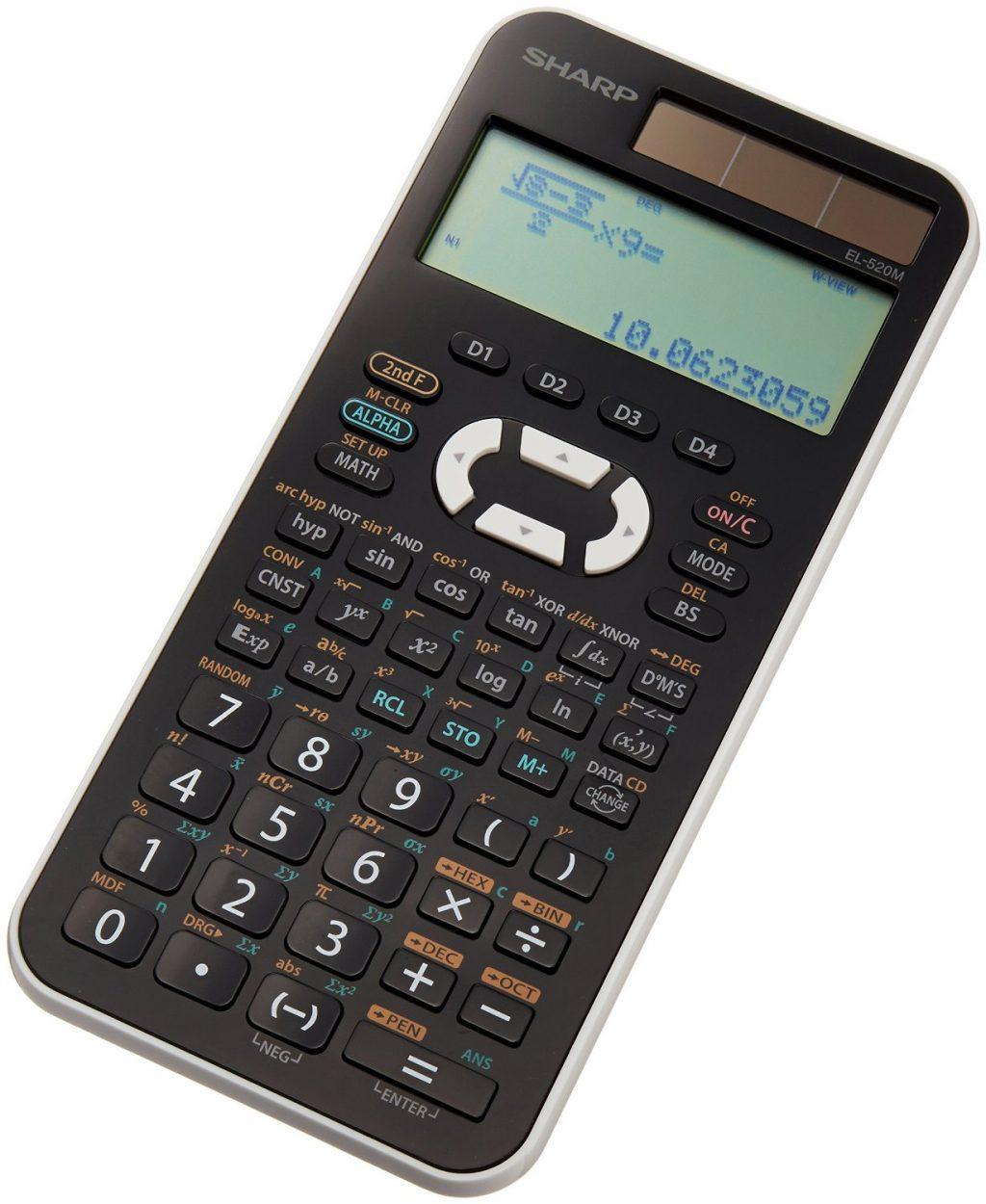 シャープの関数電卓
