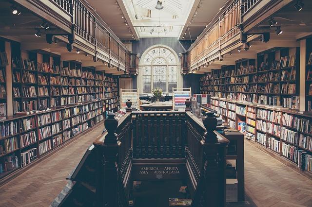 図書館の小説