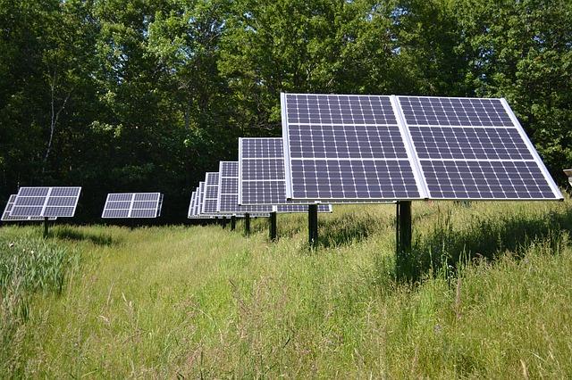 地方で太陽光発電